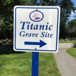 the Titanic Grave Site